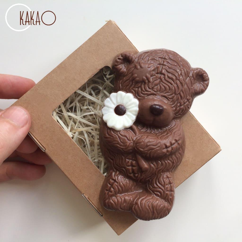 творог мишка с шоколадкой картинка все